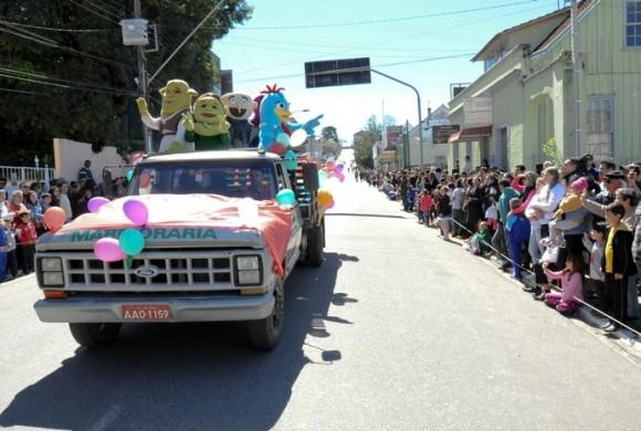 Participação no Desfile Cívico de 7 de Setembro 2016 em Rio Negro
