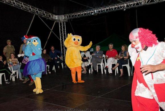 Abertura do Natal das Etnias 2018 na cidade de Mafra