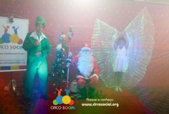 Cemma recebe a visita do Circo Social