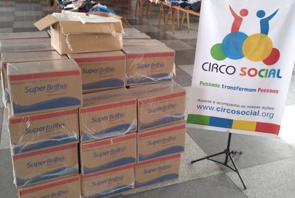 Bridgestone Bandag doa máscaras e cestas básicas para a população de Mafra