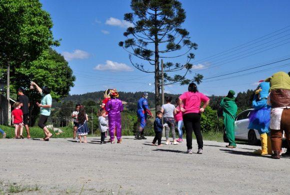 Caravana da Alegria do Circo Social e Pastoral da Criança atende mais de mil crianças em Riomafra