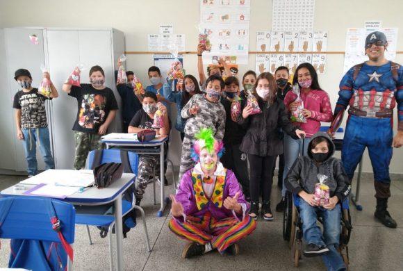 Caravana da Alegria do Circo Social atendeu mais de 1.200 crianças em Riomafra
